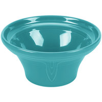 Homer Laughlin 431107 Fiesta Turquoise 1.25 Qt. Hostess Serving Bowl - 4/Case