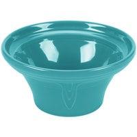 Homer Laughlin 431107 Fiesta Turquoise 1.25 Qt. Hostess Serving Bowl - 4 / Case
