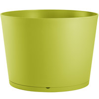 Grosfillex US260282 Tokyo 32 inch Cactus Green Stacking Planter