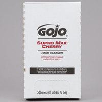 GOJO® 7282-04 TDX 2000 mL Supro Max Cherry Hand Cleaner