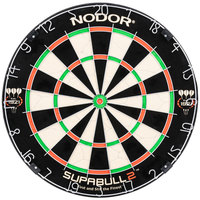 Nodor ND300 SupaBull2 18 inch x 1 1/2 inch Staple-Free Bristle Dartboard