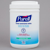 Purell® 9031-06 Alcohol Formulation Sanitizing Wipes 175 Count Canister