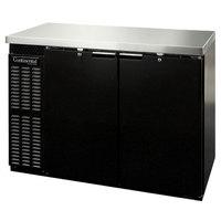 Continental Refrigerator BBC50-PT 50 inch Black Pass-Through Back Bar Refrigerator