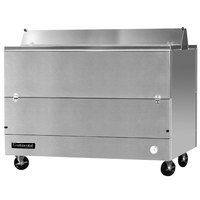 Continental Refrigerator MC5-SS-D 58 inch Stainless Steel 2 Sided Forced Air Milk Cooler