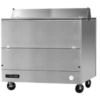 Continental Refrigerator MC4-SS-D 49 inch Stainless Steel 2 Sided Forced Air Milk Cooler
