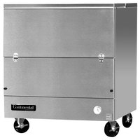 Continental Refrigerator MC3-SS-SCW 34 inch Stainless Steel 1 Sided Cold Wall Milk Cooler