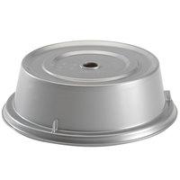 Cambro 905CW486 Camwear Camcover 9 1/2 inch Silver Metallic Plate Cover - 12/Case