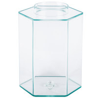Cal-Mil C1111A 2 Gallon Acrylic Beverage Dispenser Chamber