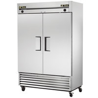 True T-49DT Two Section Dual Temp Reach In Combination Refrigerator / Freezer
