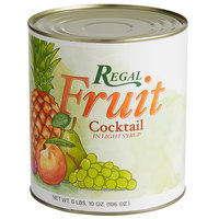 Regal #10 Can Fruit Cocktail in Light Syrup - 6/Case