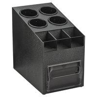 Vollrath CTNFO-06 Countertop Napkin Dispenser / Organizer with 4 Cylinders