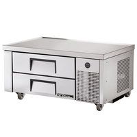 True TRCB-48 48 inch Two Drawer Refrigerated Chef Base