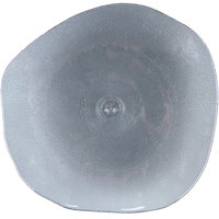 Arcoroc FJ401 Tiger 13 inch Gray Glass Free Form Plate by Arc Cardinal - 18/Case