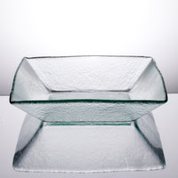 Cardinal Arcoroc FG949 Tiger 70 oz. Clear Glass Square Bowl - 24/Case