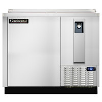 Continental Refrigerator CBC37-SS-DC 37 inch Stainless Steel Deep Chill Horizontal Bottle Cooler