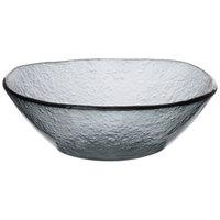 Arcoroc FG942 Tiger 38 oz. Gray Glass Free Form Bowl by Arc Cardinal - 4/Case