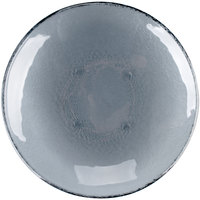 Cardinal Arcoroc FH784 Tiger 9 5/8 inch Gray Glass Deep Coupe Plate   - 24/Case