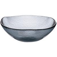 Cardinal Arcoroc FG941 Tiger 68 oz. Gray Glass Free Form Bowl - 4/Case