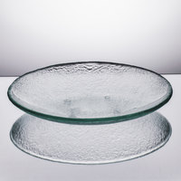 Arc Cardinal Arcoroc FH785 Tiger 9 5/8 inch Clear Glass Deep Coupe Plate - 12/Case