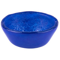 Cardinal Arcoroc FH786 Tiger 4 oz. Blue Glass Small Bowl - 24/Case