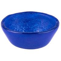 Arc Cardinal Arcoroc FH786 Tiger 4 oz. Blue Glass Small Bowl - 24/Case