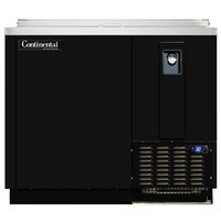 Continental Refrigerator CBC37-DC 37 inch Black Deep Chill Horizontal Bottle Cooler