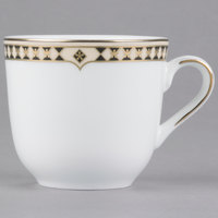 Syracuse China 911191011 Baroque 6 oz. Bone China Tea Cup - 36/Case