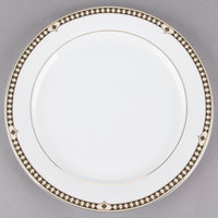 Syracuse China 911191033 Baroque 9 inch Bone China Round Plate - 24/Case