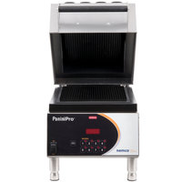 Nemco 6900-GG PaniniPro Single High-Speed Panini Press with Grooved Top and Bottom Plates - 10 1/2 inch x 10 1/2 inch Cooking Surface - 240V, 4000W