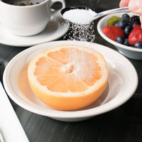 Syracuse China 950038007 Cascade 10 oz. Ivory (American White) Round Flint Porcelain Grapefruit Bowl - 36/Case