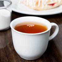 Syracuse China 911194015 Reflections 8 oz. Aluma White Porcelain Tea Cup - 36/Case