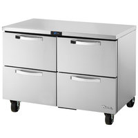 True TUC-48D-4-HC~SPEC1 48 inch Spec Series Undercounter Refrigerator with Four Drawers