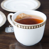 Syracuse China 911191028 Baroque 8 oz. Bone China Tea Cup - 36/Case