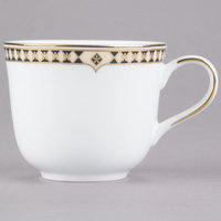 Syracuse China 911191028 Baroque 8 oz. Bone China Tea Cup - 36/Case