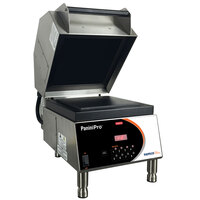 Nemco 6900-FF PaniniPro 14 1/2 inch Single High-Speed Panini Press with Flat Top and Bottom Plates - 208V
