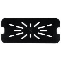 1/3 Size Black Polycarbonate Drain Shelf