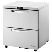 True TUC-27D-2-ADA-HC~SPEC1 27 inch Spec Series ADA Height Undercounter Refrigerator with Two Drawers