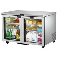 True TUC-48G-ADA-HC-LD~SPEC1 48 inch Spec Series ADA Height Undercounter Refrigerator with Glass Doors