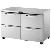 True TUC-48D-4-ADA-HC~SPEC1 48 inch Spec Series ADA Height Undercounter Refrigerator with Four Drawers