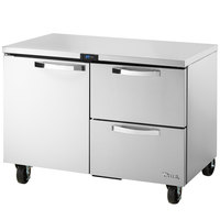 True TUC-48D-2-ADA-HC~SPEC1 48 inch Spec Series ADA Height Undercounter Refrigerator with One Door and Two Drawers