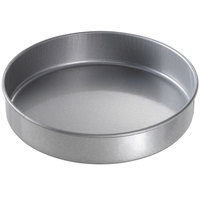 Chicago Metallic 41025 10 inch x 2 inch Glazed Aluminized Steel Round Cake Pan
