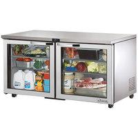 True TUC-60G-ADA~SPEC1 60 inch Spec Series ADA Height Undercounter Refrigerator with Glass Doors