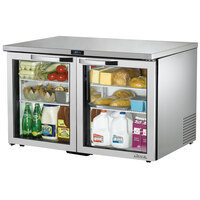 True TUC-48G-LP-HC-LD~SPEC1 48 inch Spec Series Low Profile Undercounter Refrigerator with Glass Doors