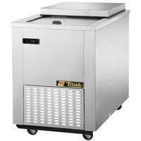 True TMW-36F-FT-SD 34 inch Flat Top Meat Well Chest Freezer