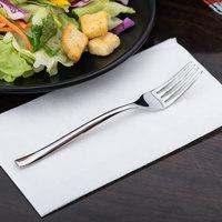 World Tableware 930 038 Briossa 7 1/4 inch 18/8 Stainless Steel Extra Heavy Weight Dessert / Salad Fork - 12/Case