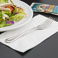 World Tableware 971 038 Aspen 6 7/8 inch 18/8 Stainless Steel Extra Heavy Weight Salad Fork - 36/Case
