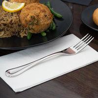 World Tableware 971 027 Aspen 8 inch 18/8 Stainless Steel Extra Heavy Weight Dinner Fork - 36/Case