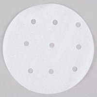 Globe PATTYPAPER4 4 inch Perforated Round Patty Paper   - 5000/Case