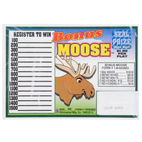 Bonus Moose 1 Window Pull Tab Tickets - 465 Tickets Per Deal - Total Payout: $385