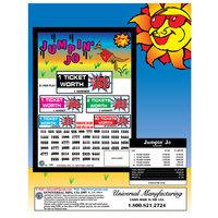 Jumpin' Jo 5 Window Pull Tab Tickets - 1620 Tickets Per Deal - Total Payout: $1275